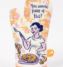 Blue Q You Wanna Piece Of This Oven Mitt