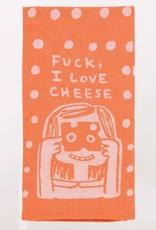 Blue Q F*ck, I Love Cheese Dish Towel
