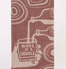 Blue Q Make It A Double Dish Towel