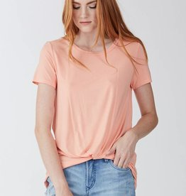 Another Love Julia Knot Front Tee Melon