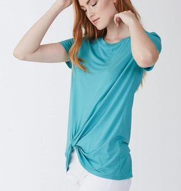 Another Love Julia Knot Front Tee Sea Glass