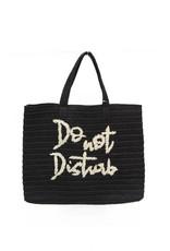 BTB Do Not Disturb Tote Black
