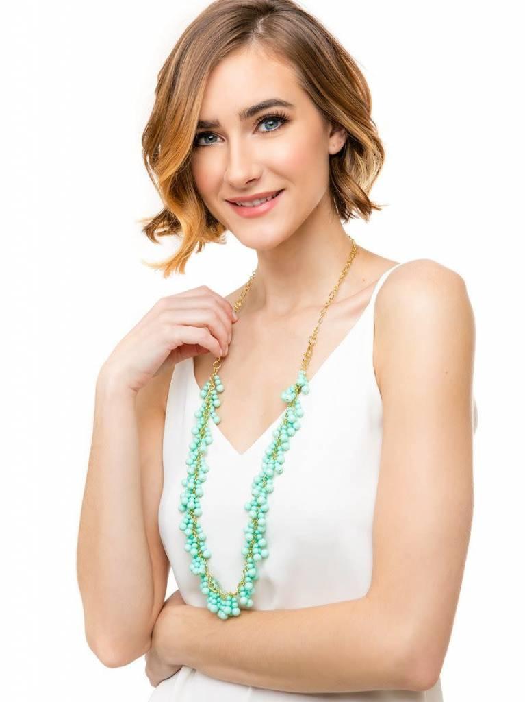 Jewelry Dew Drops Necklace Mint