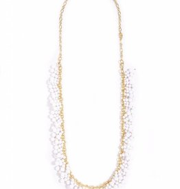 Jewelry Dew Drops Necklace White