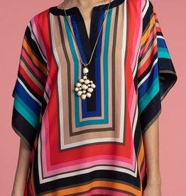 Trina Turk Trina Turk Theodora Dress Multi Stripes