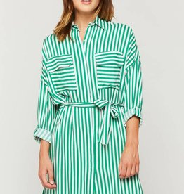 Velvet Heart Cliantha Dress Green Stripe