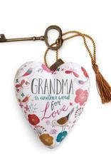 Demdaco Art Heart Grandma