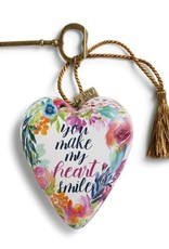 Demdaco Art Heart Heart Smile