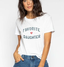 Sub Urban Riot Favorite Daughter Tee White