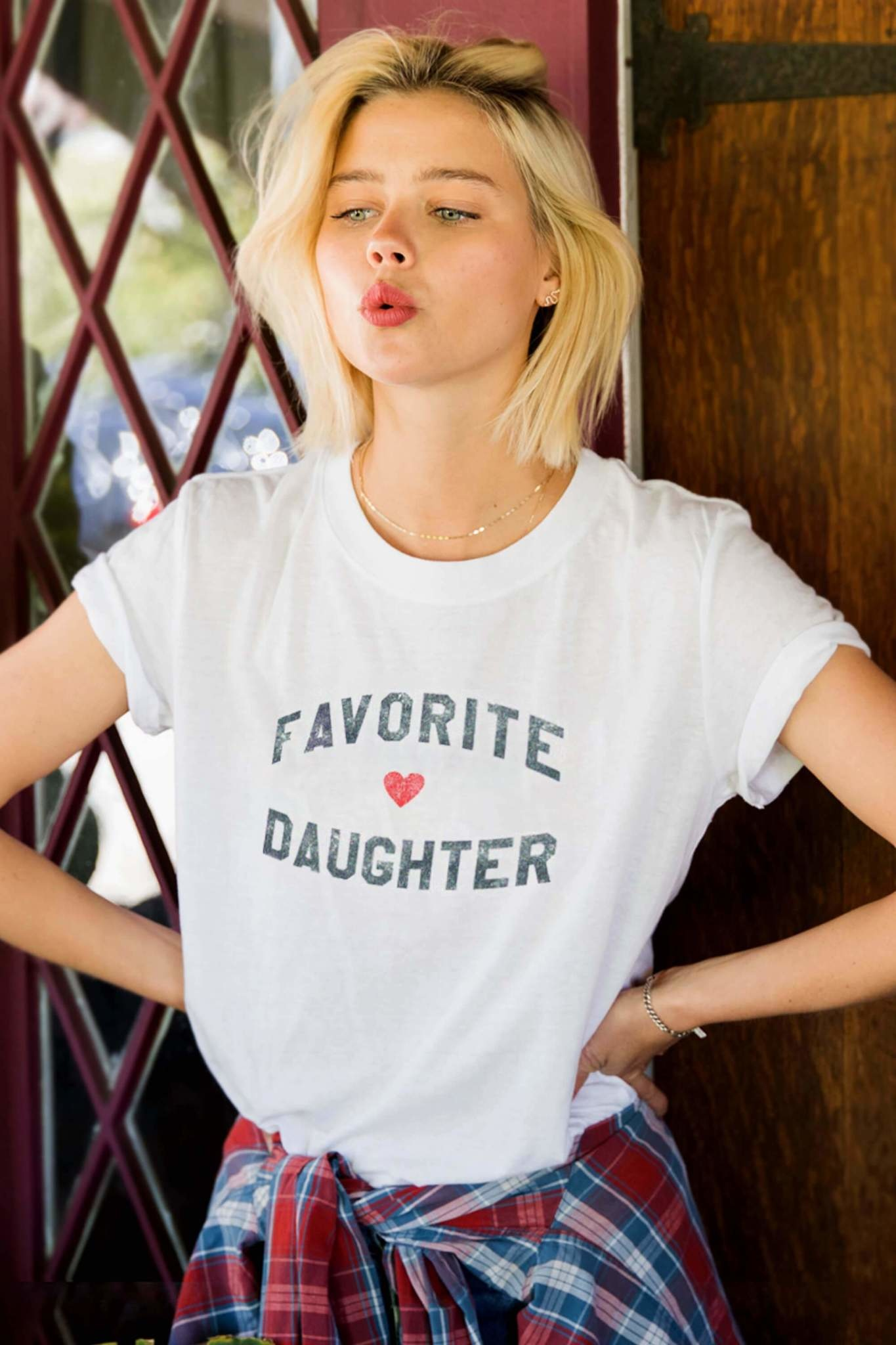 Sub Urban Riot Favorite Daughter Tee White