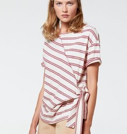 Aldo Martins Stripe Top with Tie