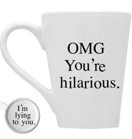 Buffalovely OMG You're Hilarious Mug