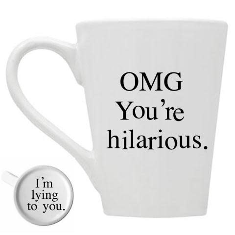 Buffalovely OMG You're Hilarious Mug