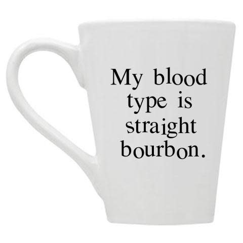 Buffalovely Straight Bourbon Blood Type Mug
