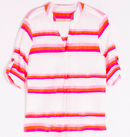 Vilagallo Pink Stripe Top