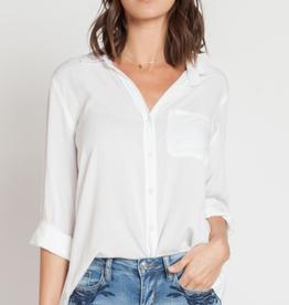 Velvet Heart Elisa Rolled Sleeve Shirt White