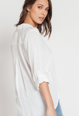 Velvet Heart Velvet Heart Elisa Rolled Sleeve Shirt White