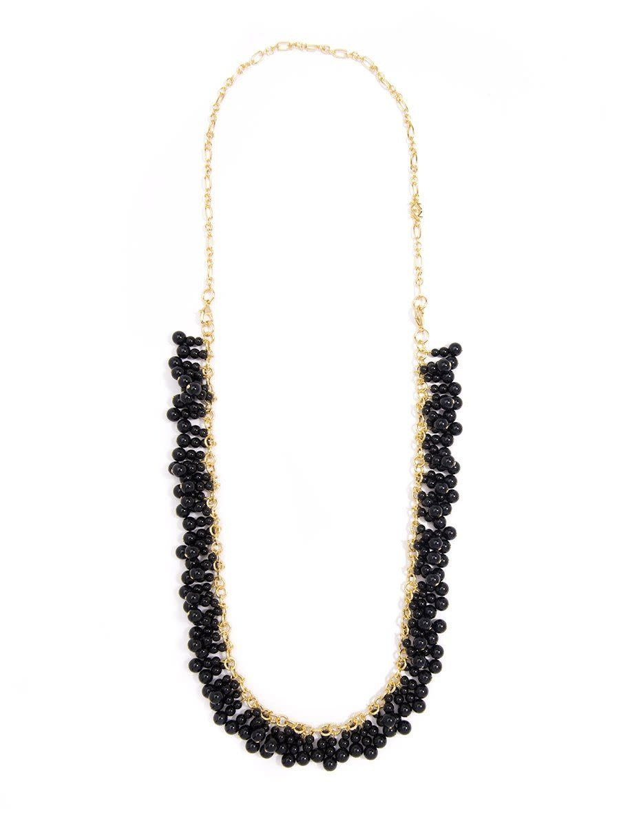 Jewelry Dew Drops Necklace Black