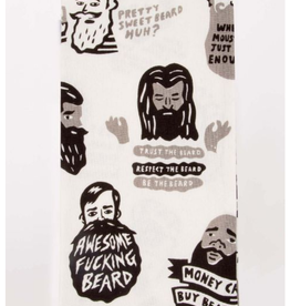 Blue Q Awesome F*cking Beard Dish Towel