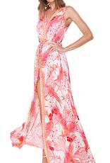 Hale Bob Solana Maxi Dress Coral