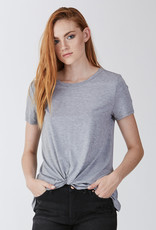 Another Love Julia Knot Front Tee Gray