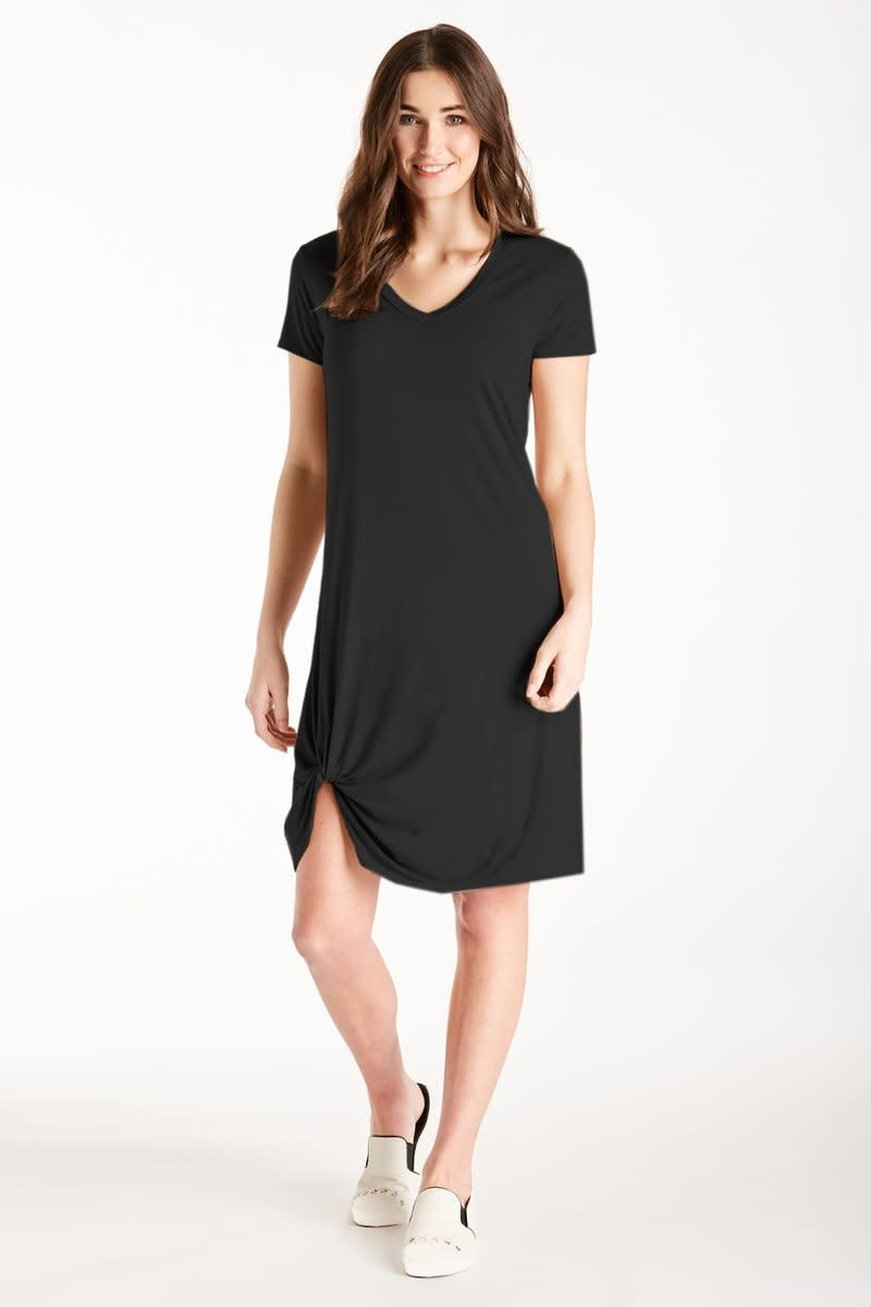 Another Love Another Love Hope Dress Side Knot Black