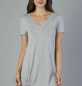 Another Love Another Love Hope Dress Side Knot Gray