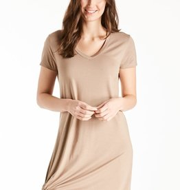 Another Love Another Love Hope Dress Side Knot Light Mocha