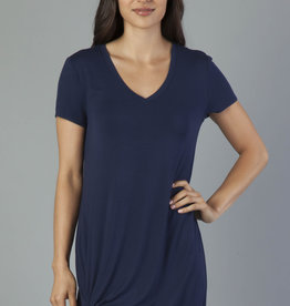 Another Love Hope Dress Side Knot Navy