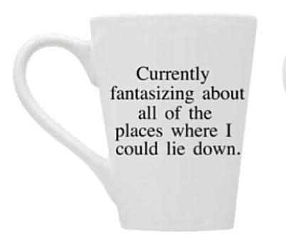 Buffalovely Fantasizing about all the places Mug
