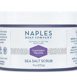 Naples Soap Company Lavender Vanilla Sea Salt Scrub
