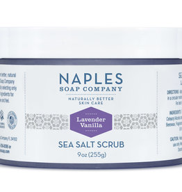 Naples Soap Company Naples Soap Co. Lavender Vanilla Sea Salt Scrub