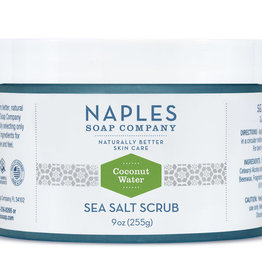 Naples Soap Company Coconut Water Sea Salt Scrub