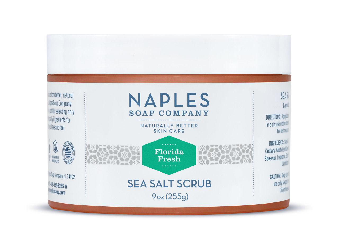 Naples Soap Company Florida Fresh Sea Salt Scrub