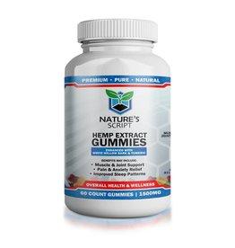 Natures Script High Potency CBD Gummies 70-Count