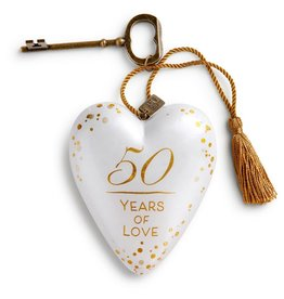 Demdaco Art Heart 50 Years of Love