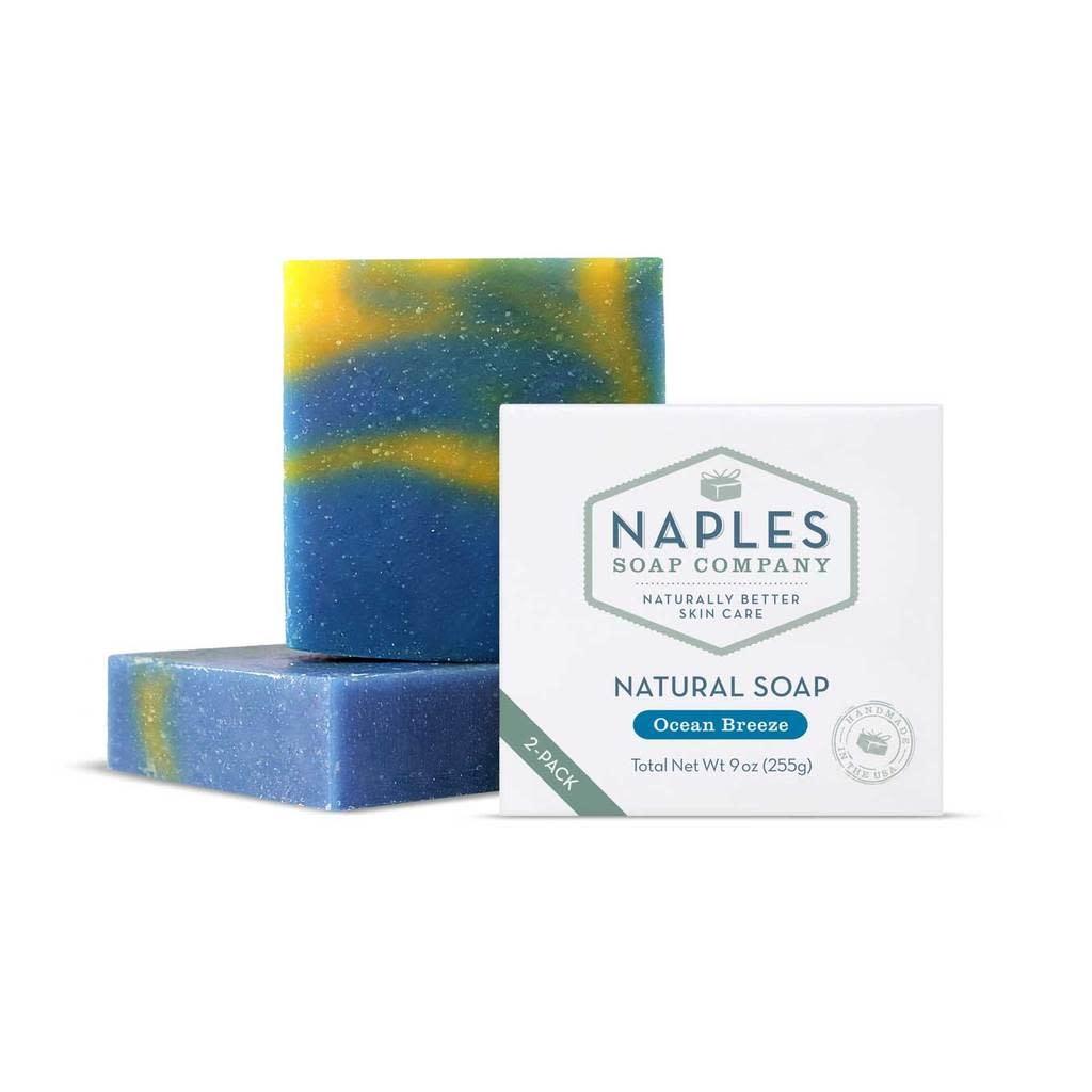 Naples Soap Co. Natural Soap 2 Pack Ocean Breeze