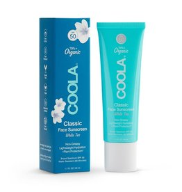 Coola Classic Face Organic Sunscreen Lotion SPF 50