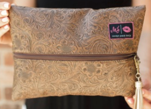 Makeup Junkie Bag Amarillo Brown