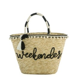 Shiraleah Weekender Straw Tote Bag