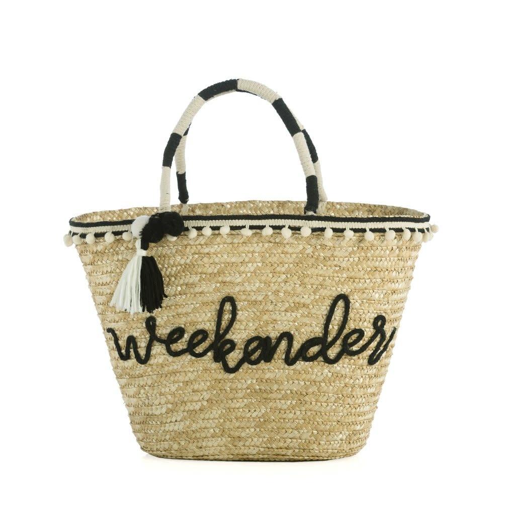 Shiraleah Weekender Straw Tote Bag