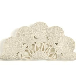 Shiraleah Val Clutch Ivory