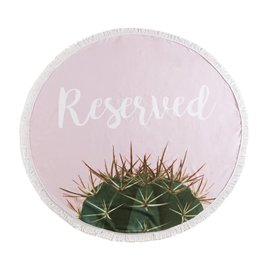 Shiraleah Round Beach Towel with Bag Reserved