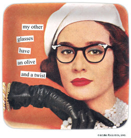 Anne Taintor Mini Tray My Other Glasses