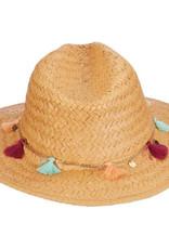Dorfman Pacific Tijeras Hat w/ Tassles