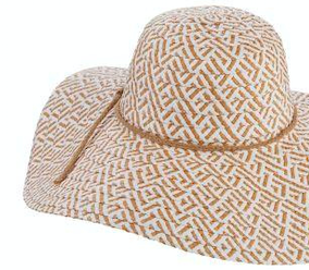 Dorfman Pacific Shea Two Tone Floppy Hat