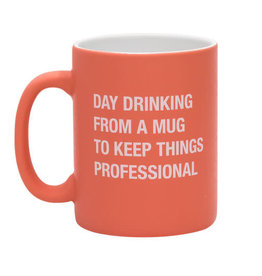 About Face Day Drinking Mug