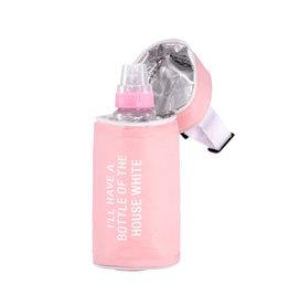 About Face The House White Thermal Bottle Bag