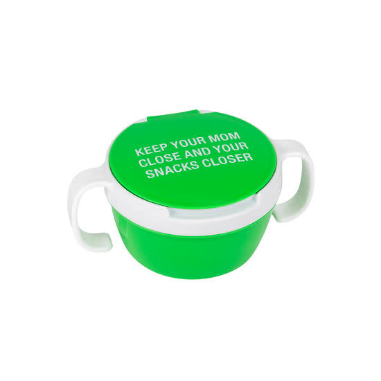 About Face Keep Your Mom Close Snack Container