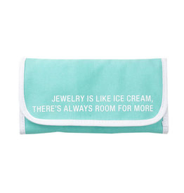 About Face Ice Cream Jewelry Roll
